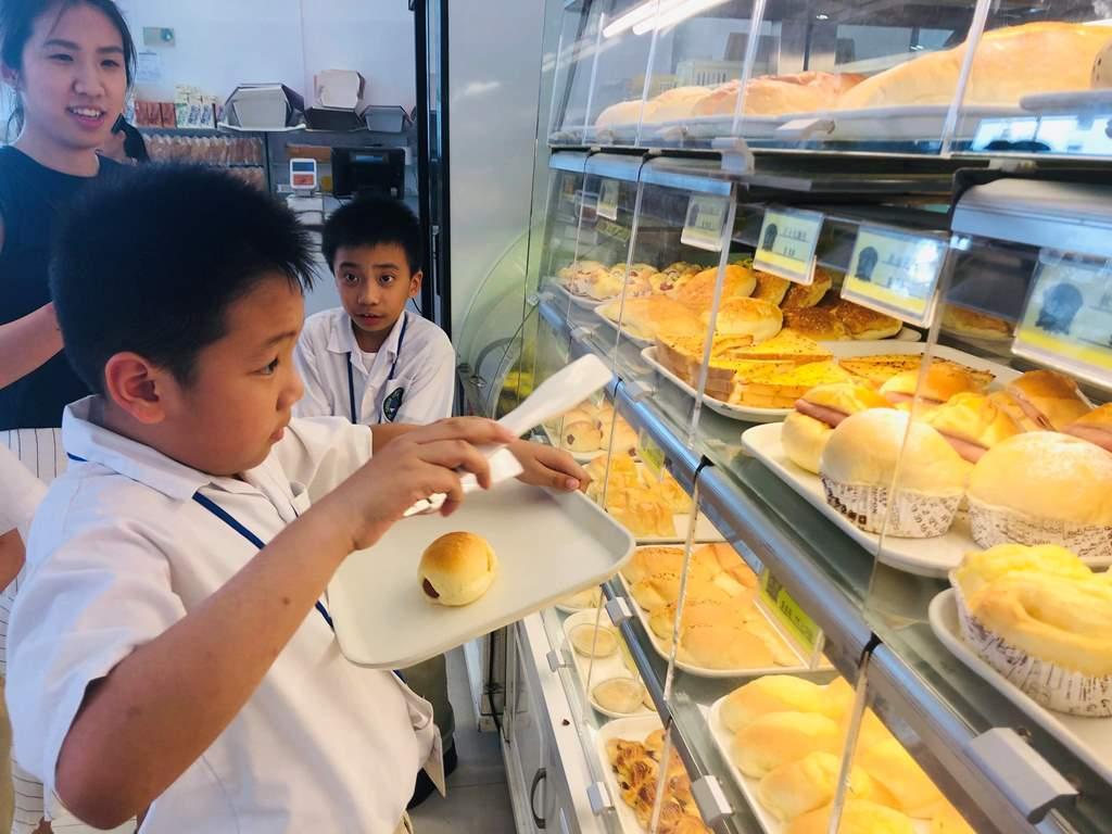 獨立生活及運算組 購物訓練:自助麵包店